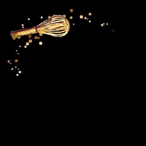 The Golden Whisk Logo